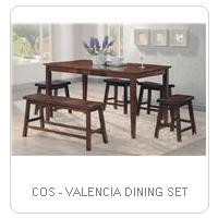 COS - VALENCIA DINING SET